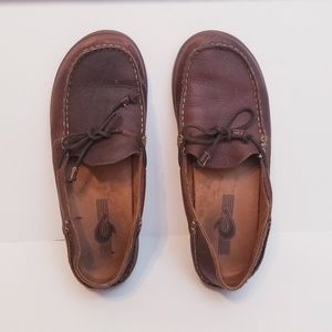 Olukai Huli Men Leather loafers | 10.5
